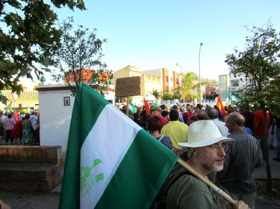 Manifestacion en La Linea, Pan, Trabajo, Techo...jpg - 52